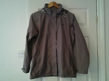 ladies regatta jacket size 12 brown water  repellent