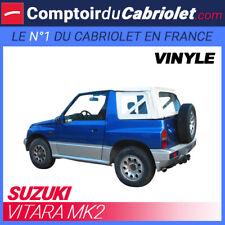 Capote blanche 4x4 Suzuki Vitara MK2 cabriolet en Vinyle OEM blanc