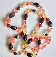 Vintage 50ies Bohemian Czech Glass Necklace