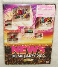News Dome Party 2010 Live Japan Limited 3-DVD+48P BOX