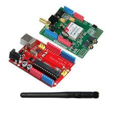 Geeetech Iduino/arduino Uno+GSM/GPRS SIM900 Shield Board Quadband Wireless
