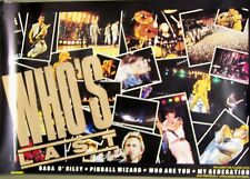 The Who - WHO'S LAST [1984] Vintage Promotional Poster - NM