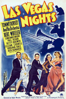 Las Vegas nights Tommy Dorsey movie poster print