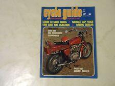 MAY 1969 CYCLE GUIDE MAGAZINE,OSSA 250,BSA THUNDERBOLT,KAWASAKI 90,INDIAN/ENFIEL