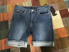 BEBE~ Cotton Stretch Denim Walking Shorts Jean Shorts 27