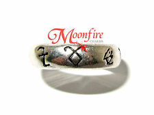 THE MORTAL INSTRUMENTS SHADOWHUNTER RUNE RING ANGELIC POWER FEARLESS SPEED HEAL