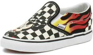 Vans Toddler Infant x Disney Mickey & Minnie Mouse Classic Slip-On Shoes
