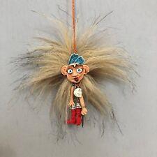 Ooak Beastie, Crazy Funny Doll, CarAccessory, Skull jewelry, Fantasy pendunt
