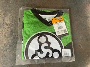 Green Strider Bike Cycling Long Sleeve Jersey Top - Size 3T - NEW With Tags