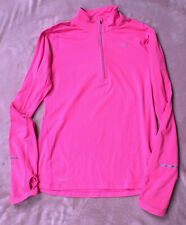 Nike Dri-Fit Pink, Long Sleeve, Running Top Size S