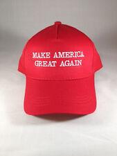 Make America Great Again Donald Trump Hat Red Snapback Cap MAGA USA DJT