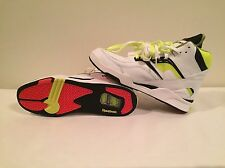 Men's Reebok Twilight Zone Pump White/Neon Yellow Size 13 New&Real