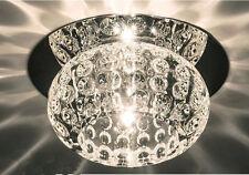 Plafonniers et lustres blanche moderne en cristal pour la maison
