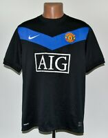 MANCHESTER UNITED 2009/2010 AWAY FOOTBALL SHIRT JERSEY NIKE SIZE L ADULT