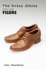 ks1002-13 Wood Brown Short Boots Shoes (Plastic) for Homme Fr Colour Infusion