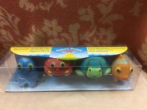 Melissa & Doug Sunny Patch Seaside Sidekicks SQUIRTERS Squeeze-and-Squirt NEW