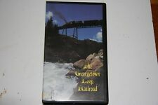 VHS VIDEO TAPE TITLED: THE GEORGETOWN LOOP RR   SHOWS SLIGHT USE