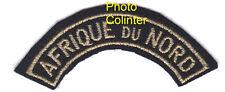 AFRIQUE DU NORD  -  titre d'épaule Armée de l'Air - Broderie Machine