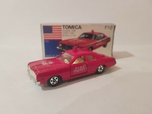 TOMICA F10 - DODGE FIRE CHEIF CAR [RED] NEAR MINT VHTF JAPAN *COMBINED POSTAGE*