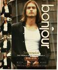 1994 BONJOUR Menswear Men's clothing fashion Vintage Print Ad