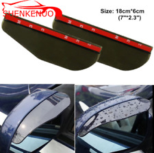 2X Universal Car Rear View Wing Mirror Sun Shade Shield Rain Board Eyebrow Guard