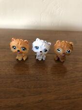 Littlest Pet Shop Lps Authentic Chow Chow Dog Lot #117 #384 #332