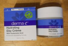 2oz DERMA E HYDRATING DAY CREME w/ hyaluronic acid DRY/NORMAL SKIN uns nib