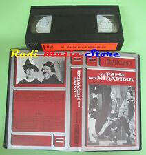 VHS film Stanlio Ollio NEL PAESE DELLE MERAVIGLIE M&R MR001 74 min (F31) no dvd