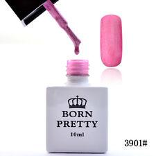 10ml Born Pretty Soak Off Gel Polish UV Nail Polish Varnish Matte Pink 3901#