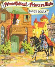 Vnt 1954 Princess Aleta Valient Paper Doll Lasr Repro~Org Sz Unct Free Sh No1Slr