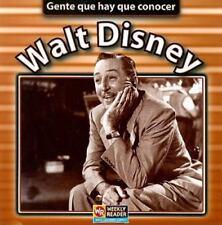 Walt Disney (Gente Que Hay Que Conocer) (Spanish Edition)
