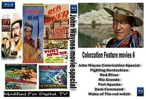 Red River Rio Grande and more  5 John Wayne Greatest westerns  Revised