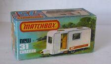 Repro Box Matchbox Superfast Nr.31 Caravan