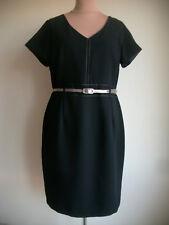 SAVOIR Elegante Kleid 44/46(UK18),Knielang,Kurzarm,Büro,Business,Freizeit,Party