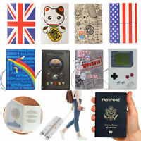 PVC Essential Passport Holder Bag Travel Passport Cover Case Protector 1pc