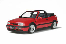 VW VOLKSWAGEN GOLF 3 CABRIOLET SPORT EDITION 1/18 Otto Ottomobile OT202 EN STOCK
