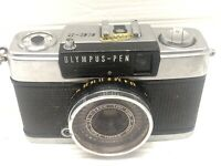 Olympus Pen EE-2 Half Flame Film Camera w/ F-Zuiko 28mm F3.5
