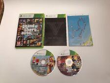 Xbox 360 - Grand Theft Auto V (GTA 5) / Complete / Good Condition