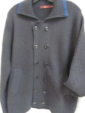 Seven 7 for All Mankind Gray Chunky Cardigan Wool Cashmere Sweater LMINT
