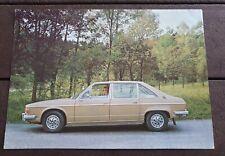 Prospekt Brochure Tatra 613 tschechisch