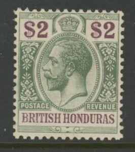 BR. HONDURAS, MINT, #83, OG HR, WMK 4, CLEAN, SOUND