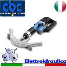 Piegatubi Curvatubi elettroidraulica per curvare tubi in rame ricotto 7 forme...