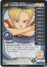 DRAGONBALL Z DBZ CCG ANDROID 18, THE MOM LV1 #34 NEAR MINT UNCOMMON