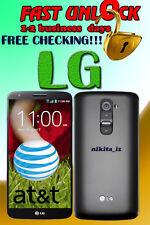 AT&T LG G1 G2 G3 Pro Vigor Flex Nitro Vista Thrill Code Factory Unlock Service.