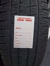 Adhesive Used Tire Labels Weatherproof With High Tack Tire Adhesive