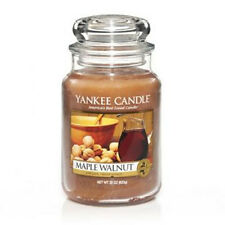 Yankee Candle - MAPLE WALNUT - 22 oz - Great Food & Spice Scent!! - RARE!!
