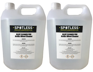 10L Alloy Wheel Cleaner Acid Professional Grade From Spotless Cleaning Supplies