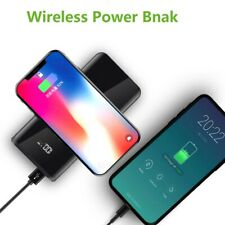 Fdgao Qi Wireless 2usb LCD 20000mah Powerbank Battery Charger for iPhone XS Max