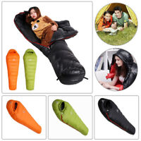 95% White Goose Down Waterproof Sleeping Bag for Outdoor Camping Climbing Travel