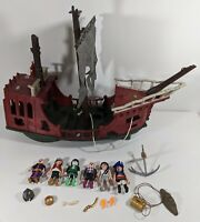 Playmobil 4806 Pirates Ghost Pirate Ship some Accessories 2008 Geobra